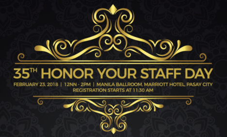 35th Honor Your Staff Day