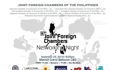 RGF Philippines Sponsors the 13th Joint Foreign Chamber of Commerce Networking Night